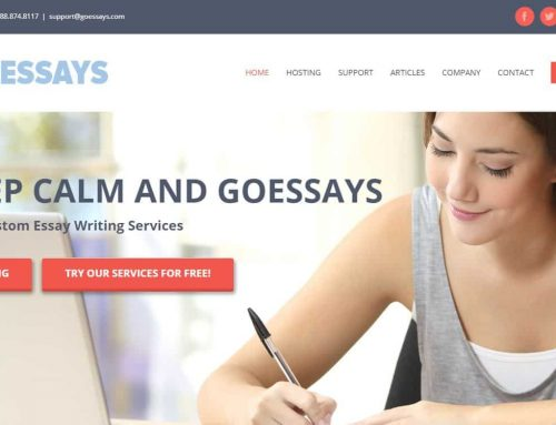 Welcome to the new Goessays.com! Best Custom Essay Writing Service
